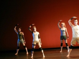 """Stand Till You Fall (the tune was an old rebel one)"" Choreographed by Elizabeth Johnson"