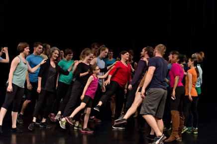 'Field Dances' - Merce Cunningham, Walker Art Center - Minneapolis, MN