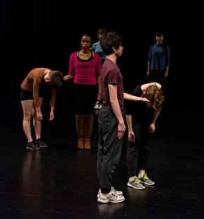 'Field Dances' - Merce Cunningham, The Walker Art Center Minneapolis, MN